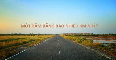1 dặm bằng bao nhiêu km