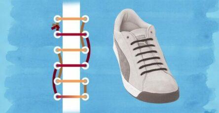 Cách thắt dây giày